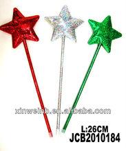 Cute christmas star shaped pen