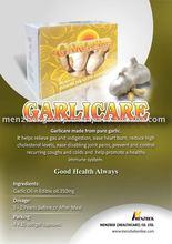 Essential Garlic Extract Oil Capsules