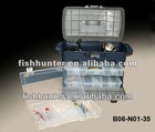 weihai plastic fishing tackle fishing lure boxes