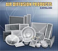 Air Diffuser, Grill, Register, Damper , linear Diffusers.
