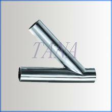 s/s welded Y-type tee