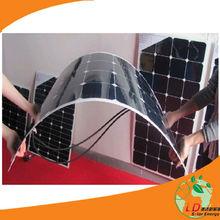 semi flexible solar panel for boat , bendable solar panel used on car,caravan,yacht
