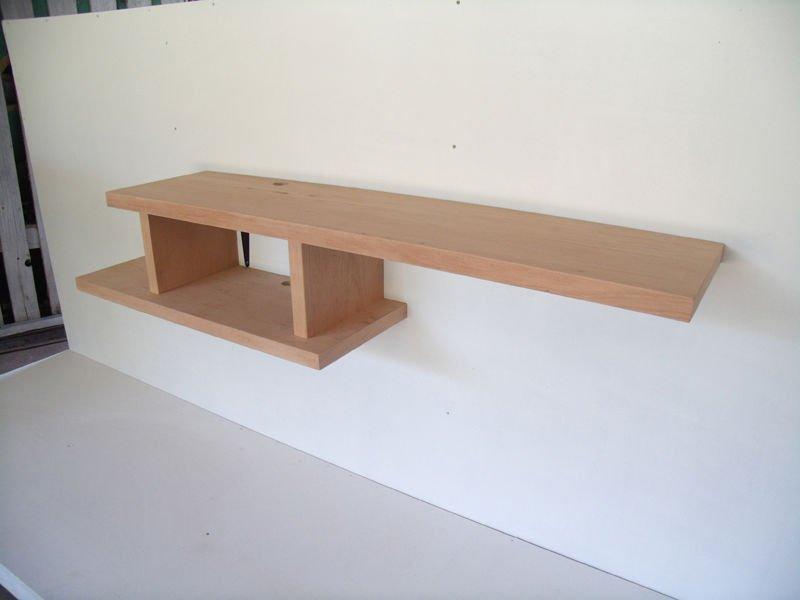 Soporte de la tv de pared armarios de madera - Tv en la pared ...