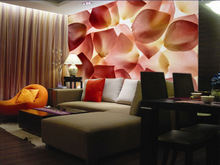 vivid petalage design wallpaper/wall mural for interior decoration