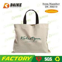 Manufacturer Durable Cotton Tote Bag Promotion DK-AN019