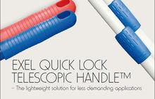 EXEL quick lock telescopic pole