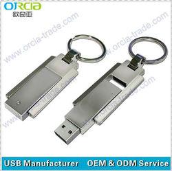 Keychain 2GB,4GB,8GB,16GB Metal Usb Drives Flash Pendrive