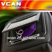 IR/FM transmitter 7 inch headrest monitor