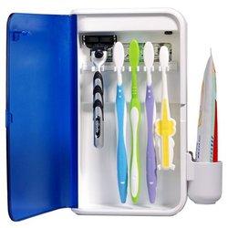 RST2043 Family Pack UV toothbrush Sanitizer - Wall-mountable Design