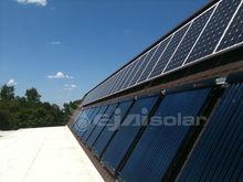 Vacuum tube flat plate solar collector