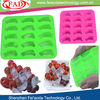 Rainbow 20 Mini Small Cars Special Silicone 3d Chocolate Mould