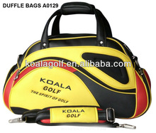 Brand golf bag with PU material