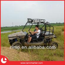 Gas powered beach buggy