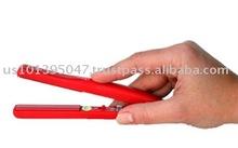 Professional Flat Iron Hair Straightener Mini Silk (Red)