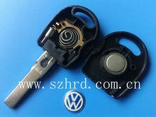VW Passat transponder key with light and VW ID48 chip key shell car key blank