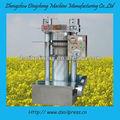 série ds pequena imprensa fria máquina de óleo de coco manteiga de gergelim