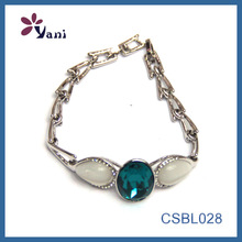 Wholesale Crystal Silver Opal Bracelet Turkish Jewels