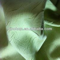 Creased micro W/T fabric/Creased fabric with bonding