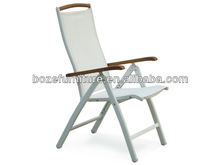 White Folding Patio Chairs/ Patio Furniture