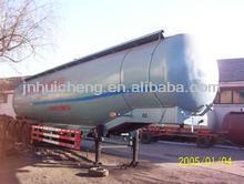 low price!! 45CBM Gasoline Chemical liquids trailer