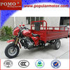 China Best Gasoline Motorized New Cheap Popular 2013 Cargo 250CC 3 Wheels Tricycle Adult
