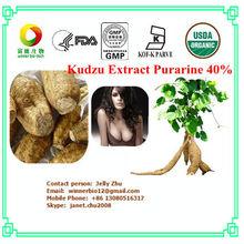 Natural Kudzu Root Extract 10%~60% Isoflavones , Purarine 40%