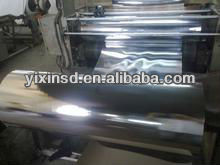 pet supplier laminated met metallized coated CPP/BOPP film used for food packaging bag printing,packing materials