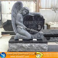 Unique Design Angel cemetery stones