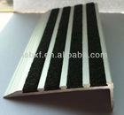 Plastic stair nose/Non Slip Stair nosing/Aluminum stair nosing