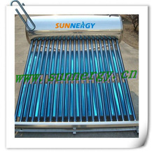 2013 New stainless steel non pressurized Solar thermal energy hot water