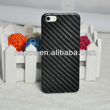 NAPOV high quality 100% real carbon cover for iphone 5 5s