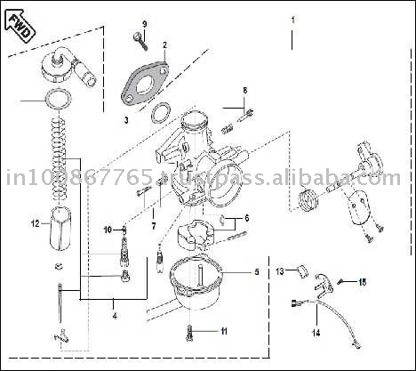 1989 Yamaha Blaster Wiring Diagram furthermore 1996 Yamaha Blaster Wiring Diagram moreover Honda Fourtrax 300 Wiring Harness Diagram as well Honda Atc 110 Carburetor Diagram also Wiring Diagram Yamaha Moto 4. on 110cc carburetor diagram