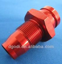 aluminum threaded quick coupler, hydraulic quick coupler, female / male quick coupler