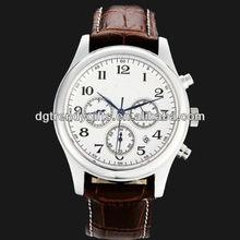 Nickel free stainless steel watch quartz