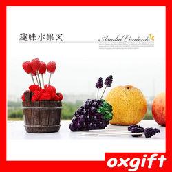 OXGIFT Stainless beautiful Steel Fruit Fork