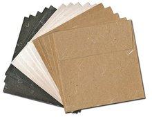Silk Fiber Handmade Paper Envelopes