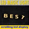 advertising scrolling message p10 digital led display