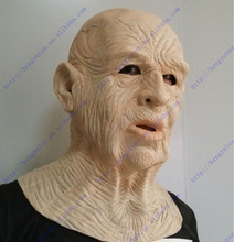2013 Hot Selling Adult Size High Quality Celebrations Carnival Party Fancy Dress Costume Rubber Old Man Mask