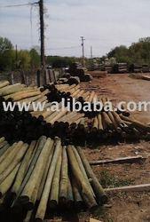 CCA Pressure Treated Wood Fence Post