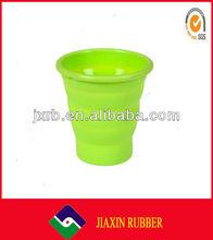 2013 Newest silicone/ plastic bubble tea cupJX-10004
