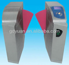 RFID Automatic Flap Barrier Gate Entrance and Exit Access Control System