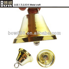 holiday decoration small hanging metal bell