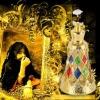 Arabic Ornamented Golden-Plated Luxury Perfume Bottles