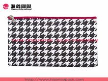 hot sale fresh canvas cosmetic pouch/bag zipper