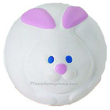 PU Rabbit Stress Ball PU Toy for kids for lonely adult