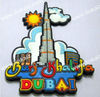 dubai tower fridge magent souvenir/rubber fridge magnet travel on dubai tower