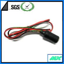 car cigarette lighter cable with one socket,car cigarette socket