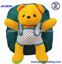 wholesale cheap cute kids plush toys school bags