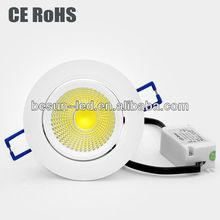 30/50 degree beam angle 10W COB led dinning room ceiling lamp