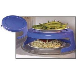Dual Microwave Plate Holder